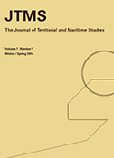 The Journal of Territorial and Maritime Studies Volume 1 Number 1