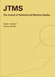 The Journal of Territorial and Maritime Studies Volume 1 Number 2