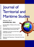 The Journal of Territorial and Maritime Studies Volume 3 Number 2