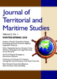 The Journal of Territorial and Maritime Studies Volume 5 Number 1